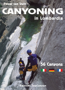 Pascal van Duin - Canyoning il Lombardia